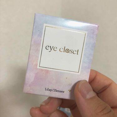 """eye closet 1day SweetSeries """"Girly""""(アイクローゼットワンデースウィートシリーズ ガーリー)/EYE CLOSET/カラーコンタクトレンズを使ったクチコミ(4枚目)"""