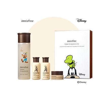 2020/1/1発売 innisfree ソイビーンエネルギー エッセンス セット Disney LTD