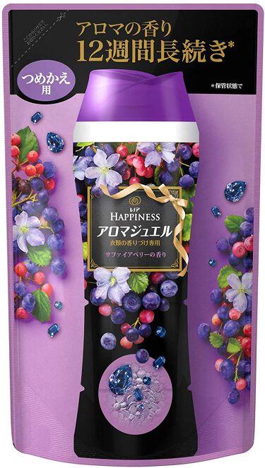 レノアハピネス アロマジュエル サファイアベリーの香り 詰替用 455ml