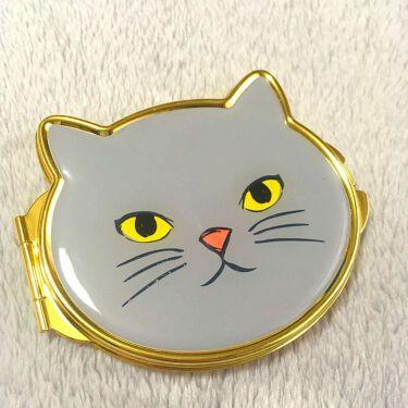 ザ・ダイソー コンパクトミラー (cat)