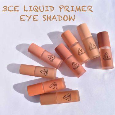 3CE LIQUID PRIMER EYE SHADOW/3CE/リキッドアイシャドウを使ったクチコミ(1枚目)