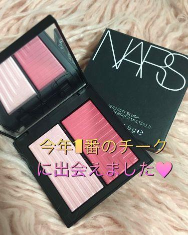 デュアルインテンシティーブラッシュ/NARS/パウダーチーク by かぽ