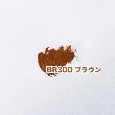 カラーラスティング アイブロウ マスカラ/FASIO/眉マスカラを使ったクチコミ(3枚目)