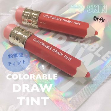 COLORABLE  DRAW TINT/It's skin/口紅 by 💕🇰🇷보미/ぼみ