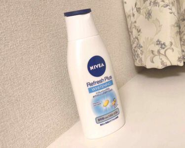 白(はく)フォロバ100%さんの「ニベア リフレッシュプラス ホワイトニング ボディミルク<ボディローション・ミルク>」を含むクチコミ