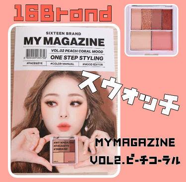 16 EYE MAGAZINE/16BRAND/パウダーアイシャドウ by あいママ