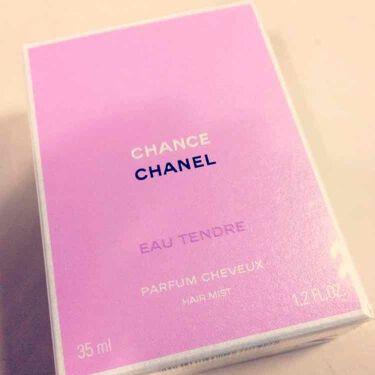 ありささんの「CHANELチャンス オー タンドゥル オードゥ トワレット(ヴァポリザター)<香水(レディース)>」を含むクチコミ