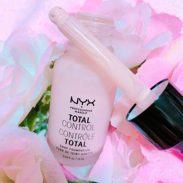 TTLコントロール DP ファンデーション/NYX Professional Makeup/リキッドファンデーションを使ったクチコミ(2枚目)