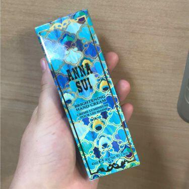 ブライトニング ハンド クリーム/ANNA SUI/ハンドクリーム・ケアを使ったクチコミ(1枚目)