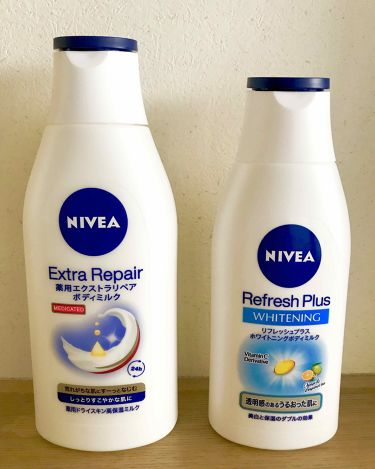 薬用エクストラリペアボディミルク/ニベア/ボディローション・ミルクを使ったクチコミ(1枚目)