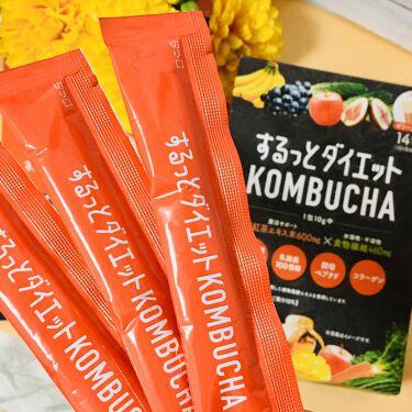 するっとダイエットKOMBUCHAゼリー/リブ・ラボラトリーズ/食品を使ったクチコミ(3枚目)