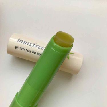 グリーンティー リップバーム/innisfree/リップケア・リップクリームを使ったクチコミ(2枚目)