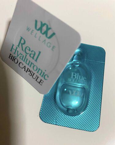 リアルヒアルロニック バイオカプセル&ブルーソリューション/Wellage/美容液を使ったクチコミ(2枚目)