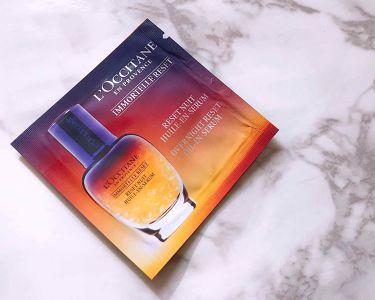 イモーテルオーバーナイトリセットセラム/L'OCCITANE/美容液を使ったクチコミ(1枚目)