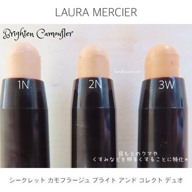 シークレット カモフラージュ ブライト アンド コレクト デュオ/laura mercier/コンシーラーを使ったクチコミ(3枚目)