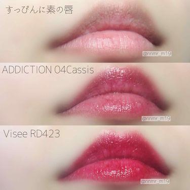 リップスティック シアー/ADDICTION/口紅を使ったクチコミ(3枚目)
