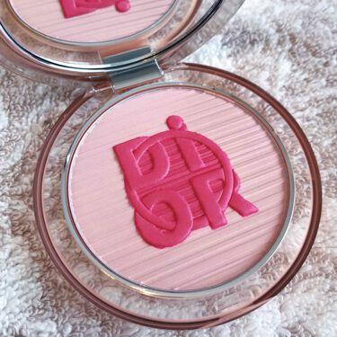 ディオールスキン ミネラル ヌード グロウ パウダー<カラー ゲームス>/Dior/プレストパウダーを使ったクチコミ(1枚目)