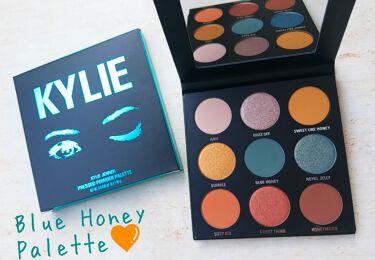 Blue Honey Palette/Kyshadow/Kylie Cosmetics/パウダーアイシャドウを使ったクチコミ(1枚目)