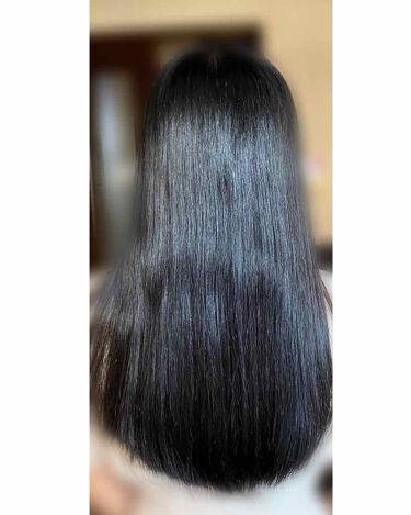 【画像付きクチコミ】中学の頃も髪の毛綺麗だよね。サラサラだよね。と言われていました。が、元々私はくせ毛でうねうねでした。それが嫌で縮毛矯正をしたりアイロンをしたり…入学式前に3度目の縮毛矯正をかけに行ったことがきっかけでした。美容院の人にトリートメントと...