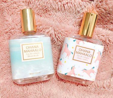 オハナ・マハロ オーデコロン  <モアニ ケアラ>/OHANA MAHAALO/香水(レディース)を使ったクチコミ(1枚目)