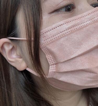 三層防護プリーツマスク/Qoo10/その他を使ったクチコミ(3枚目)