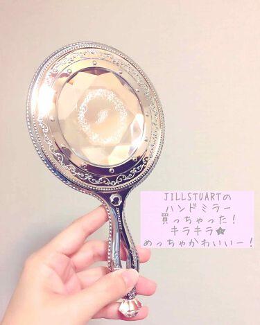 ハンドミラー/JILL STUART/その他化粧小物を使ったクチコミ(1枚目)