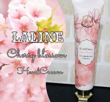 チェリーブロッサム ハンドクリーム/Laline/ハンドクリーム・ケアを使ったクチコミ(2枚目)