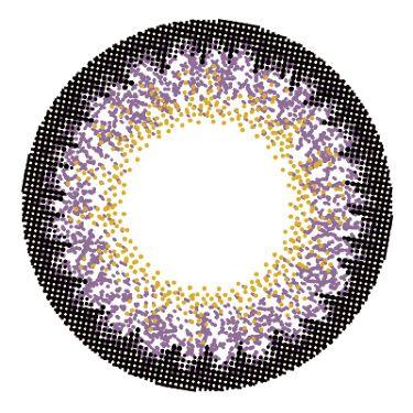 loveil 1day / 1month Violet glare