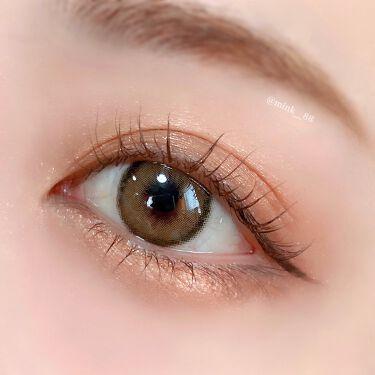 【画像付きクチコミ】🖇𓊆#カンナロゼ𓊇#ベージュブラウンDIA:14.0mm着色直径:13.0mmBC:8.6mm使用期限:1年元祖環奈ちゃんカラコンのカンナロゼ🌸発色がよく、黒目の方でもしっかり色を変えてくれそう!明るめのくすみベージュと黒フチで華やか...