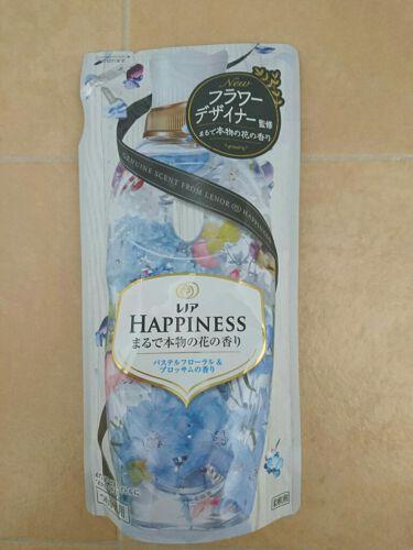 レノアハピネス パステルフローラル&ブロッサムの香り/レノア/柔軟剤を使ったクチコミ(1枚目)