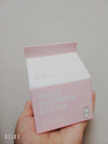 WHITE WHIPPING CREAM(ウユクリーム)/G9SKIN/フェイスクリームを使ったクチコミ(2枚目)