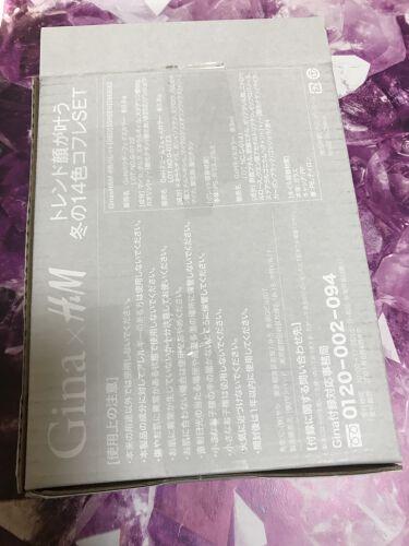 ルイボス ☆毎日投稿実施中❤️☆ on LIPS 「ジーナ 特別付録H&M冬の14色コフレセット買ってしまいました..」(5枚目)