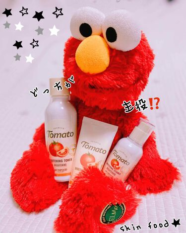 プレミアムトマト ブライトニングトナー/SKINFOOD/化粧水を使ったクチコミ(2枚目)