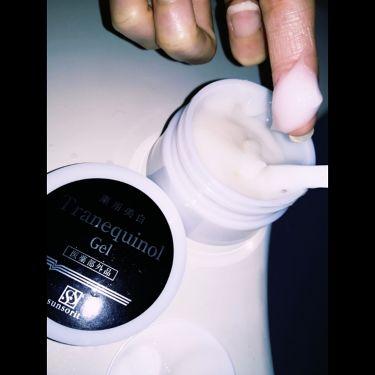 薬用美白トラネキノールジェル/サンソリット/オールインワン化粧品を使ったクチコミ(3枚目)