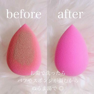 パフクリーナー/ORBIS/その他化粧小物を使ったクチコミ(2枚目)