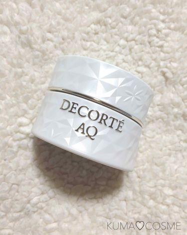 AQ マッサージクリーム/COSME DECORTE/マッサージ料を使ったクチコミ(1枚目)