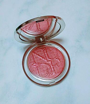ディオール スキン ミネラル ヌード ルミナイザー ブラッシュ/Dior/パウダーチークを使ったクチコミ(1枚目)