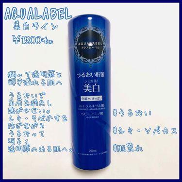 ホワイトアップ ローション(I)/アクアレーベル/化粧水を使ったクチコミ(1枚目)