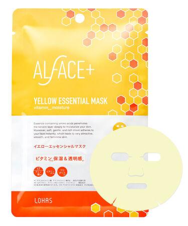 2020/9/14発売 ALFACE+ オルフェス イエローエッセンシャルマスク