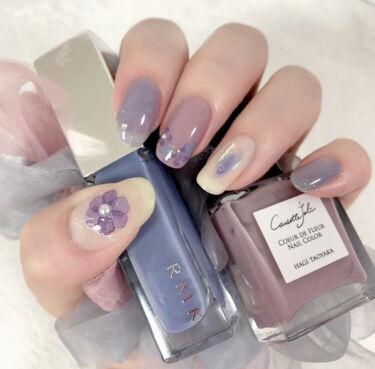 【画像付きクチコミ】紫陽花の季節なのでブルー系ネイルまとめと、ブルー系ネイルの差し色に相性がいいカラーのご紹介です。💎ブルー系ネイルおすすめカラー💎①RMK07エアリーブルーみんな大好きRMKエアリーブルー。2本目リピートしてます。シアー感が強いからか、...