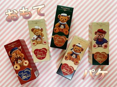 Love Bear マットリップスティック/FlowerKnows/口紅を使ったクチコミ(4枚目)
