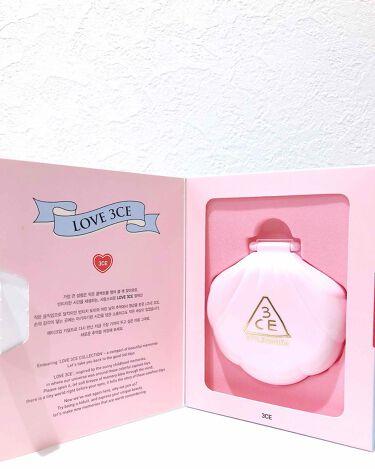 LOVE 3CE baby glow cushion 002/3CE/その他ファンデーションを使ったクチコミのサムネイル(2枚目)