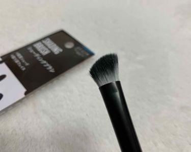 UR GLAM シェーディングブラシ/DAISO/メイクブラシを使ったクチコミ(3枚目)