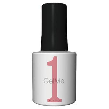ジェルネイル 36.コーラルピンク