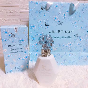 クリスタルブルーム サムシングピュアブルー パフュームド ボディローション/JILL STUART/ボディローション・ミルクを使ったクチコミ(2枚目)