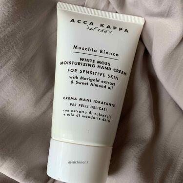 ホワイトモス ハンドクリーム/ACCA KAPPA(アッカカッパ)/ハンドクリームを使ったクチコミ(2枚目)