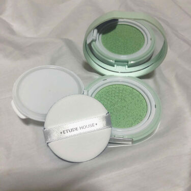 エニークッション カラーコレクター/ETUDE/化粧下地を使ったクチコミ(2枚目)