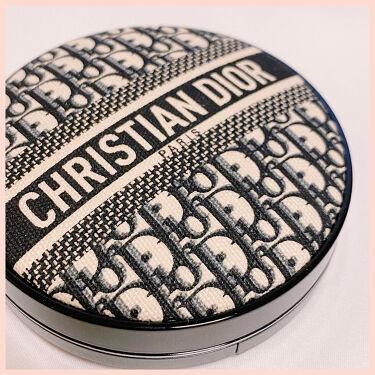 ディオールスキン フォーエヴァー クッション ディオールマニア エディション/Dior/クッションファンデーションを使ったクチコミ(1枚目)