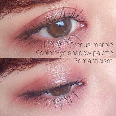 アイシャドウパレット 9色/Venus Marble(ヴィーナスマーブル)/パウダーアイシャドウ by チャンモモ
