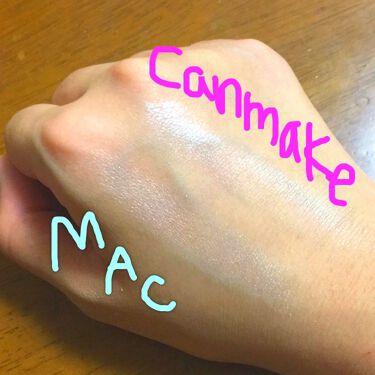 ハイライター/CANMAKE/プレストパウダーを使ったクチコミ(2枚目)